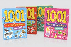 1001 Sticker Books