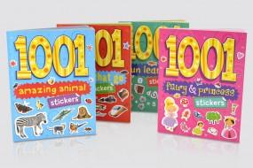 1001 Sticker Books